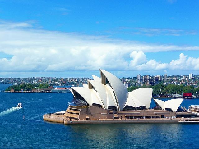第3位:オーストラリア(Anna MustermannによるPixabayからの画像)