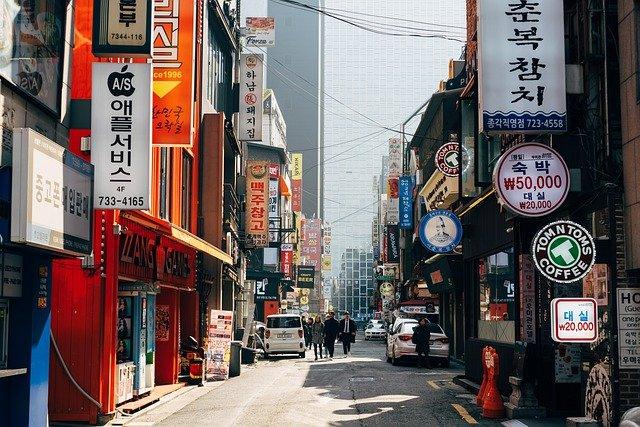 第8位:韓国(Markus WinklerによるPixabayからの画像)