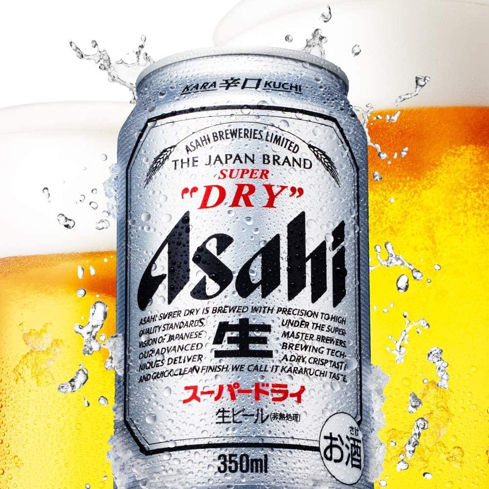 第1位:アサヒ スーパードライ(画像はAmazon.co.jpから引用)