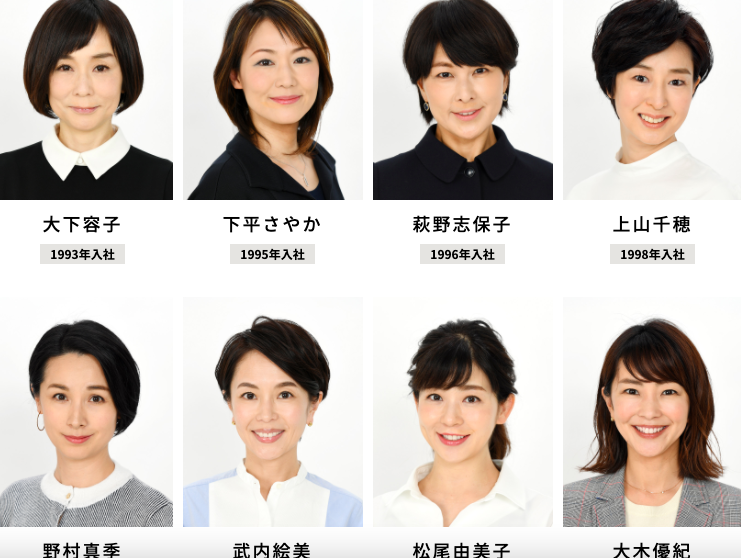 【テレビ朝日】報道向きだと思う女性アナウンサーはだれ?【投票実施中】 | ねとらぼ調査隊
